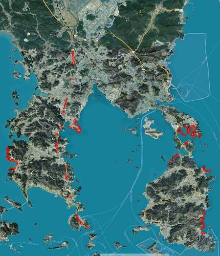 1. 여수시, 국지도 22호선 및 해안가 '경관지구 지정'.png