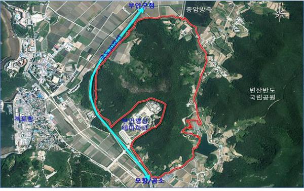 부안군, 지역관광 중심 격포권 관광개발 본격 추진-위성사진.png