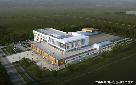 2. 고흥 드론특화 지식산업센터 건립사업 순항, 공정률 35%  (1).png